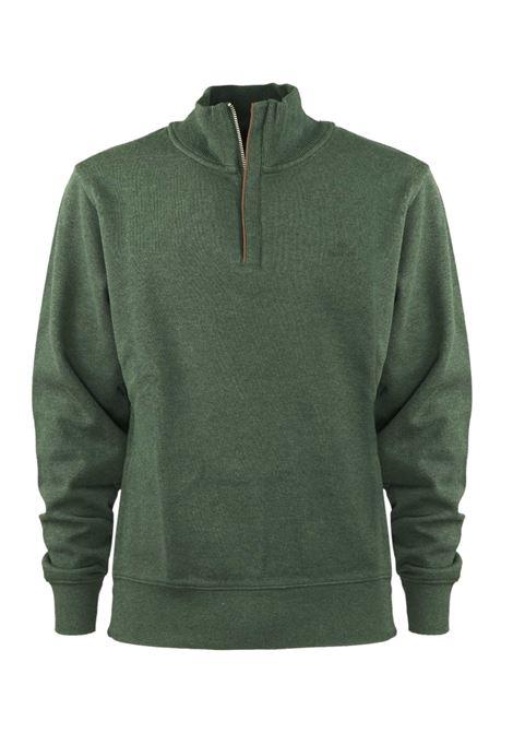 Pullover con zip corta GANT | Felpe | 2028018396