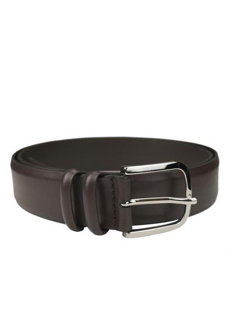 Classic belt in brushed calfskin ORCIANI   Belts   7935MORO