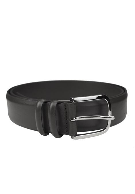 Classic belt in brushed calfskin ORCIANI   Belts   7935NERO