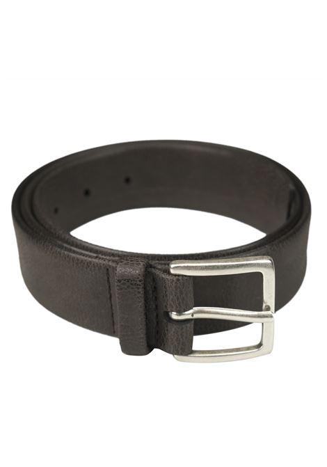 Chevrette belt in nabuk leather ORCIANI   Belts   7943MORO