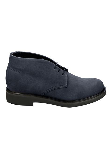 Lace-up suede mocs , rubber sole RICCIARDI | Shoes | 2047CABFDN