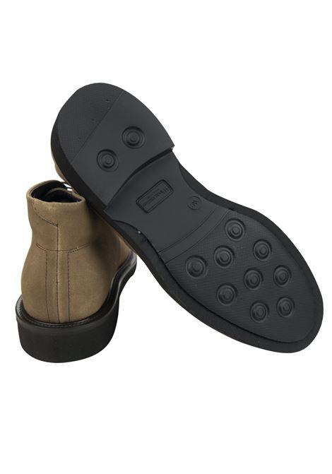 Lace-up suede mocs , rubber sole RICCIARDI | Shoes | 2047CCFCM