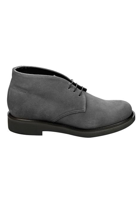 Lace-up suede mocs , rubber sole RICCIARDI | Shoes | 2047CFLCL