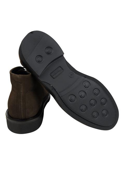 Lace-up suede mocs , rubber sole RICCIARDI | Shoes | 2047CMFDM