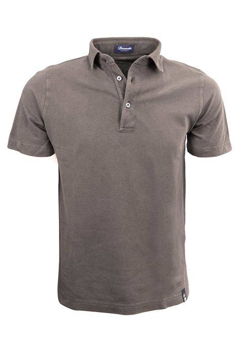 POLO  COLLO CAMICIA IN PIQUET IN COTONE LIGHT DRUMOHR | Polo | DTS202570