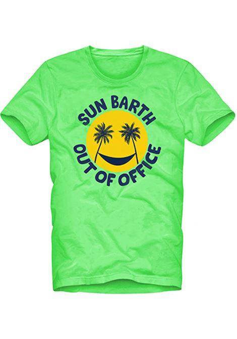 T-SHIRT CON STAMPA MC2  SAINT BARTH | T- shirt | T-SHIRT MANOTOF75