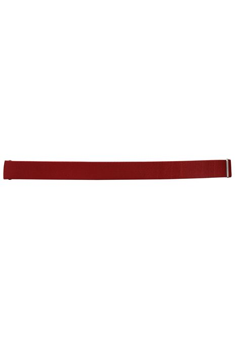 CINTURA NO BUCKLE IN PELLE NO BUCKLE by Orciani | Cinture | 11ROSSO