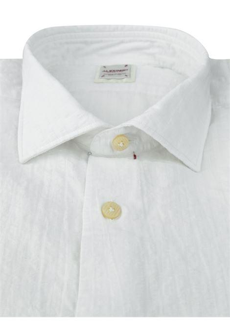 Camicia in lino tseersucker ALEX INGH | Camicie | 954701