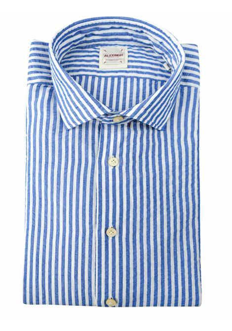 Camicia in lino a righe ALEX INGH | Camicie | 954703