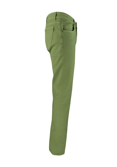 PANTALONI 5 TASCHE IN BULL PIGMENTATO BARMAS | Jeans | DEAN B319 T03170