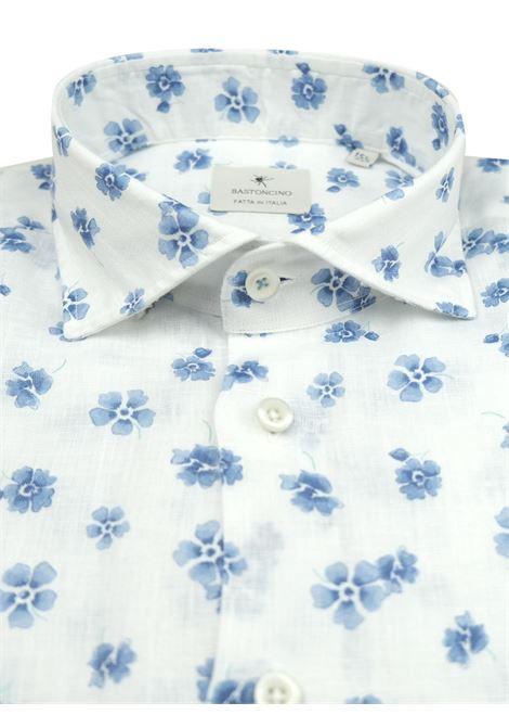 Camicia sportiva in lino BASTONCINO   Camicie   SARTORIALE1857 1 L