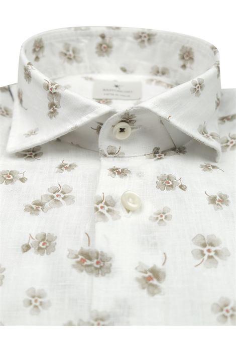 Camicia sportiva in lino BASTONCINO | Camicie | SARTORIALE1857 2 L