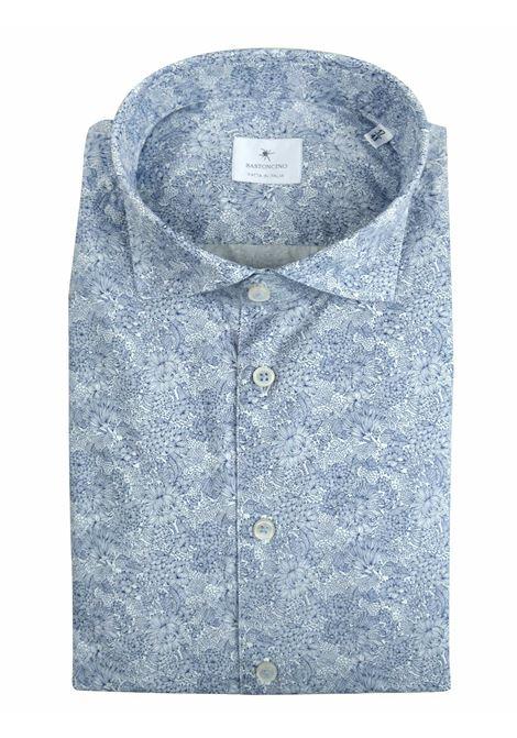 CASUAL SHIRT SOFT COLLARSLIM FIT BASTONCINO   Shirts   SIMO1834