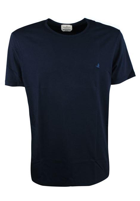 T-shirt tinta unita in cotone. BROOKSFIELD | T- shirt | 200A.J0529608