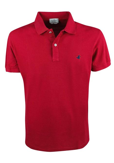 Solid color short sleeves polo