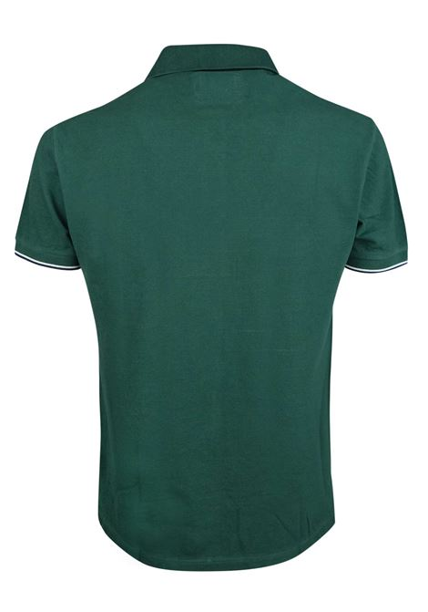 Solid color polo tipped sleeves BROOKSFIELD   Polos   201A.A0560034