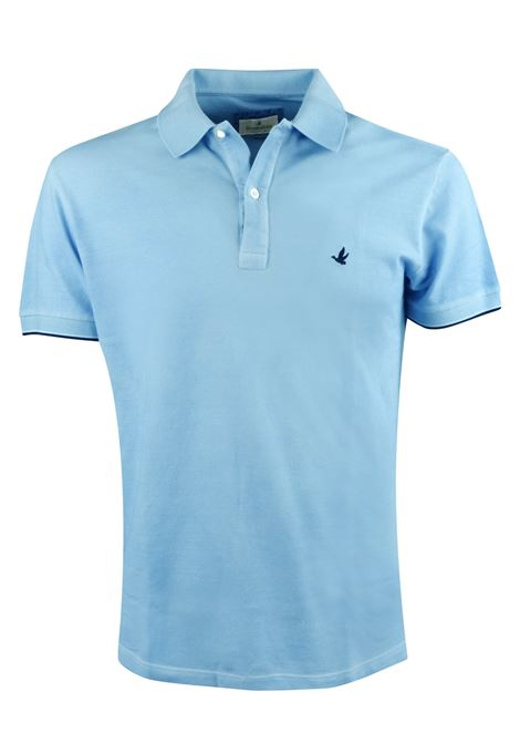 Solid color polo tipped sleeves BROOKSFIELD | Polos | 201A.A0560043