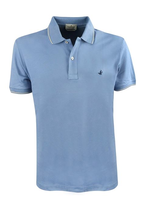 Solid color polo tipped sleeves and collar BROOKSFIELD | Polos | 201A.B0020097