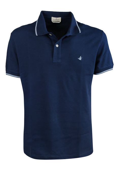 Solid color polo tipped sleeves and collar BROOKSFIELD | Polos | 201A.B0020125
