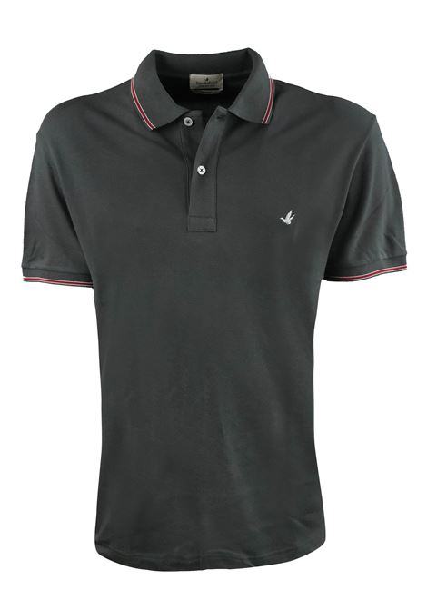 Solid color polo tipped sleeves and collar BROOKSFIELD | Polos | 201A.B0020127