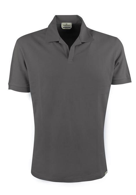 Polo Capri stretch tinta unita senza bottoni BROOKSFIELD | Polo | 201G.B0287204