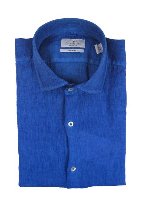 Camicia lino slim tintura a freddo. BROOKSFIELD | Camicie | 202A.S0377284