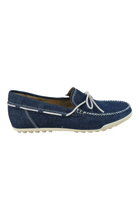 Mocassino in jeans Calò | Scarpe | DRIVINGDENIM STONE