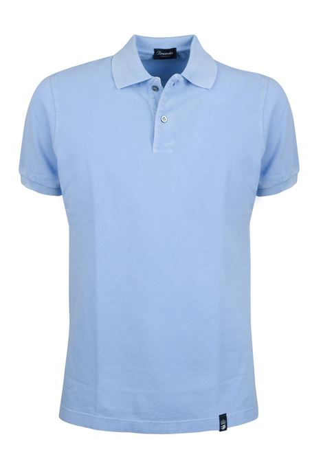 Two buttons short sleeves polo
