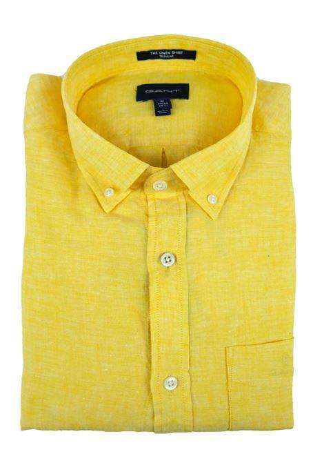 LINEN SHIRT  GANT   Shirts   3012420728