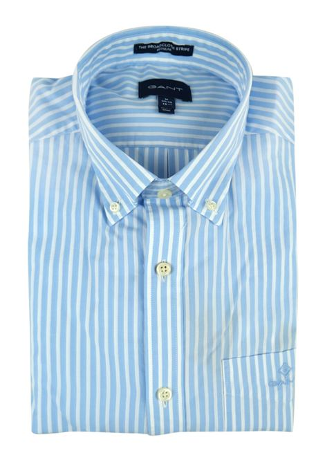 LIGHT WEIGHT POPELINE STRIPE SHIRT GANT   Shirts   3062000468