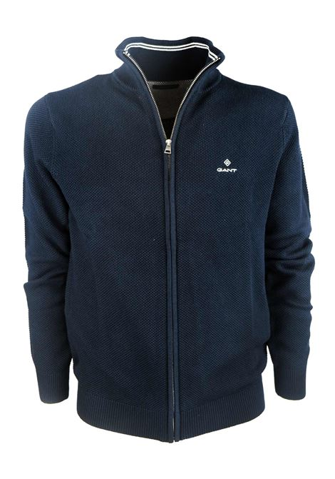 Full zip sweater GANT | Knitwear | 8030524433