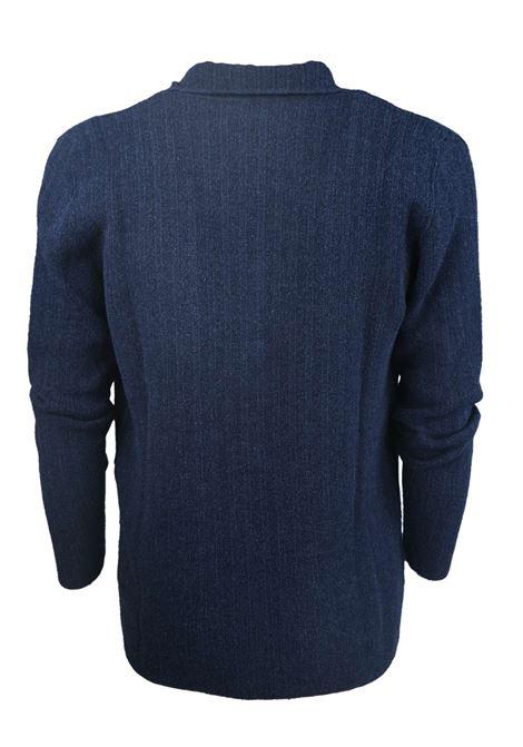 COTTON JACKET CHALK STRIPE EFFECT H953 | Knitwear | 316589