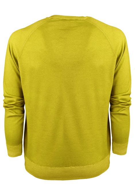Sweat style merino wool crew neck H953 | Knitwear | 317120