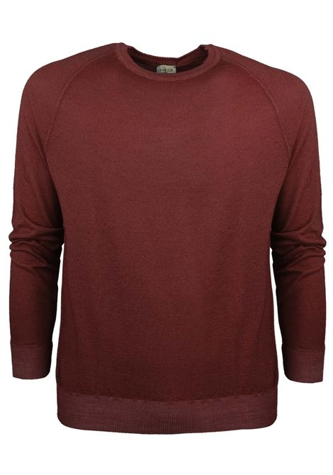 Sweat style merino wool crew neck H953 | Knitwear | 317151
