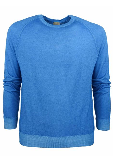 Sweat style merino wool crew neck H953 | Knitwear | 317169