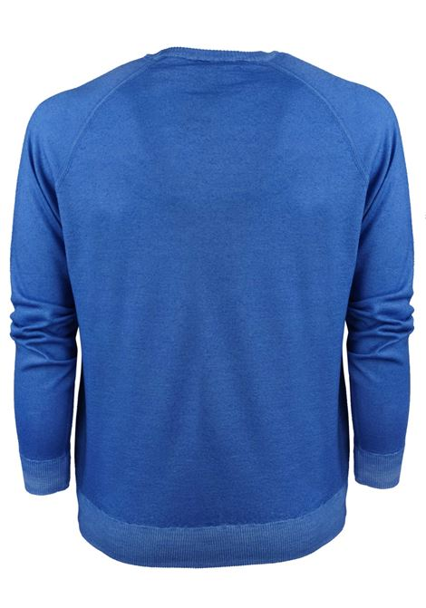 Sweat style merino wool crew neck H953 | Knitwear | 317172