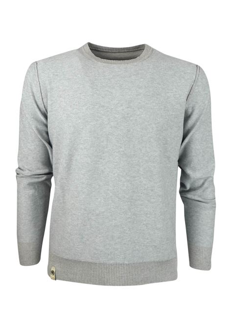 DOUBLE FACE CREW NECK