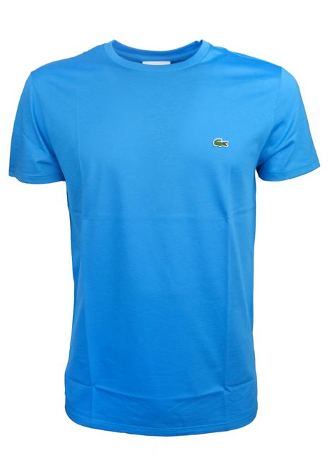PIMA COTTON T-SHIRT LACOSTE | T-shirts | TH6709PTV