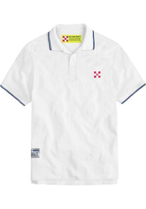 Tipped collar polo , short sleeves MC2  SAINT BARTH | Polos | BEVH00101