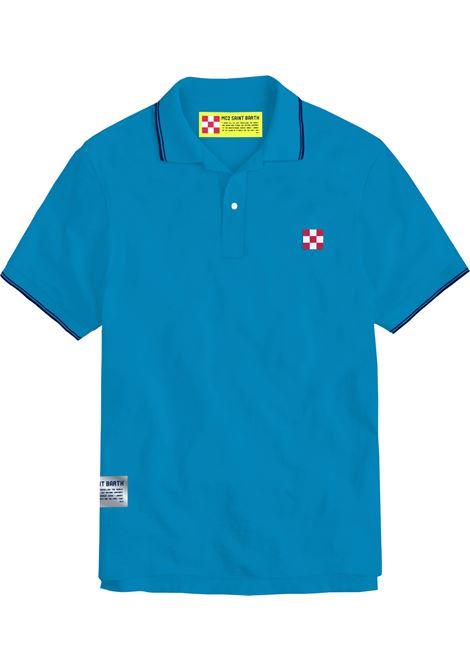 Tipped collar polo , short sleeves MC2  SAINT BARTH | Polos | BEVH00117N