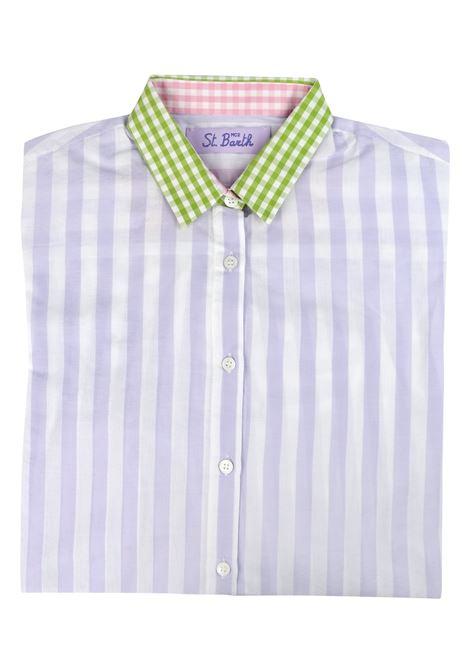 patchwork shirt MC2  SAINT BARTH | Shirts | BRIGITTEESDL27