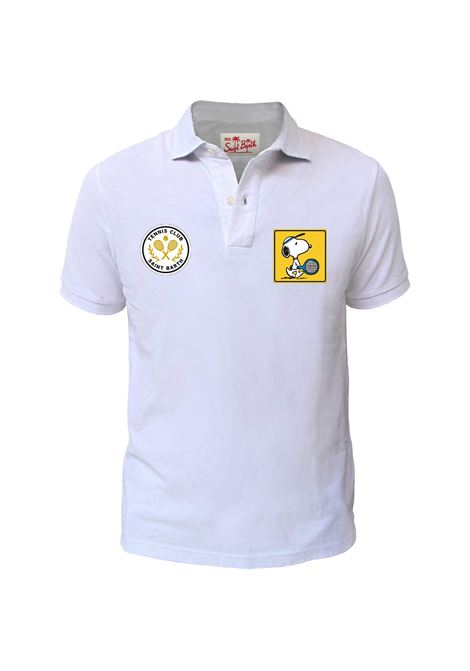 Patches piquet polo, ribbed sleeves. MC2  SAINT BARTH | Polos | CARD001PTSC0N
