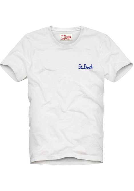 T-Shirt garment dyed MC2  SAINT BARTH | T-shirts | DOV0001SB0161