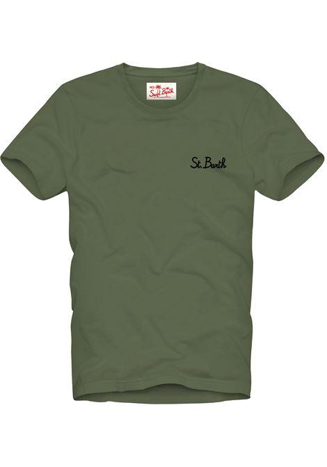 T-Shirt garment dyed MC2  SAINT BARTH | T-shirts | DOV0001SB5201