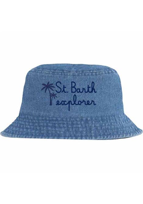 Cappello a secchiello con ricamo MC2  SAINT BARTH | Accessori | JAE0001EBBED7