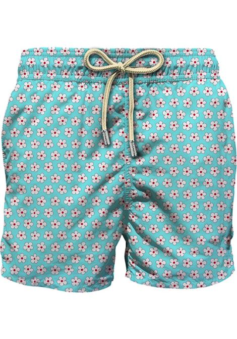 Light fabric swim short MC2  SAINT BARTH |  | LIG0003ASHL56