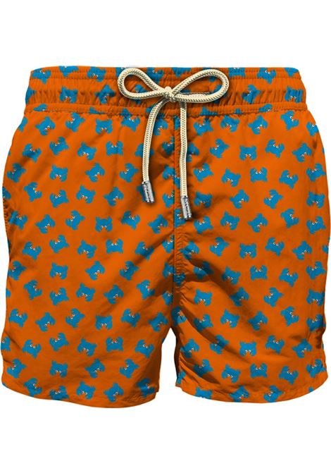 Light fabric swim short MC2  SAINT BARTH |  | LIG0003CRBF83