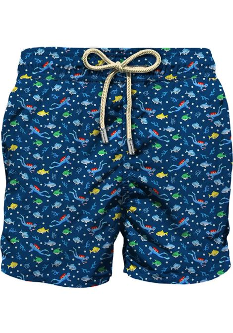 Light fabric swim short MC2  SAINT BARTH |  | LIG0003DIVE61