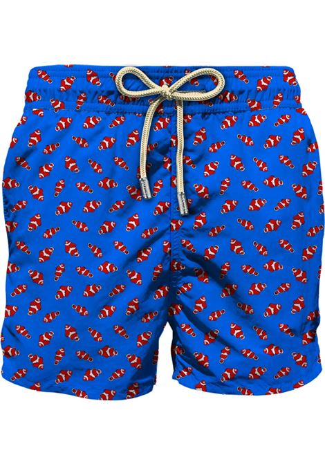 Light fabric swim short