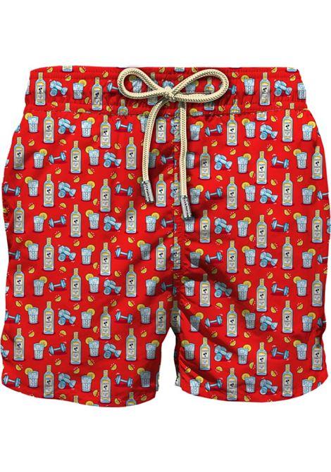 Light fabric swim short MC2  SAINT BARTH |  | LIG0003GIGY41